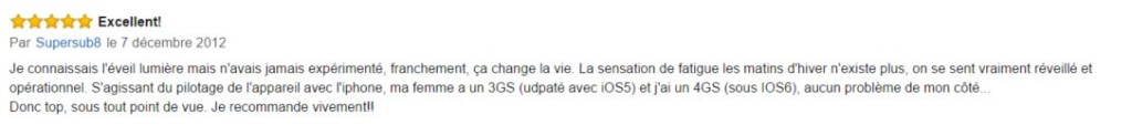 commentaires philips hf3550/01